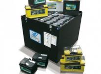 Nirlita - šakinių krautuvų baterijos