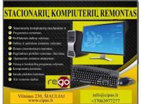 Kompiuterio, stacionaraus, stalinio PC  remontas
