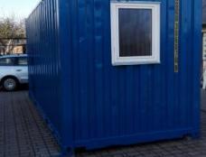 Biuro (ofisinis) konteineris Statybinis vagonėlis