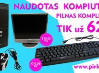 NEBRANGUS 35 eur naudotas stalinis kompiuteris su