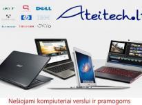 Nešiojami kompiuteriai verslui ir pramogoms