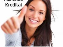 Kreditai internetu. Paskolų refinansavimas.
