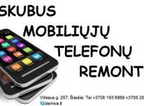 Skubus mobiliųjų telefonų remontas Šiauliuose