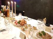 Maistas Vestuvėms, Šventinis stalas