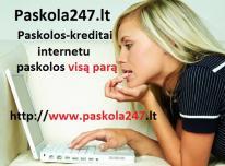 Greita paskola internetu visą parą. Paskola247lt