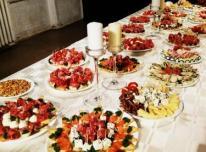 Vestuvės, maistas vestuvėms. Paruošimas, prista