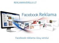 Facebook reklama verslui
